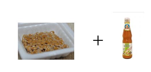 納豆とナムチムスキー