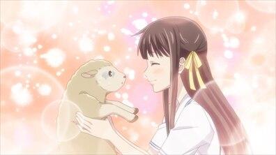 フルバアニメ1期20話透と羊